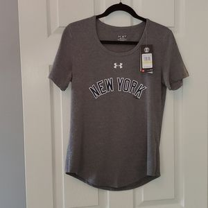 NWT - UA Heat Gear MLB New York Tee - M